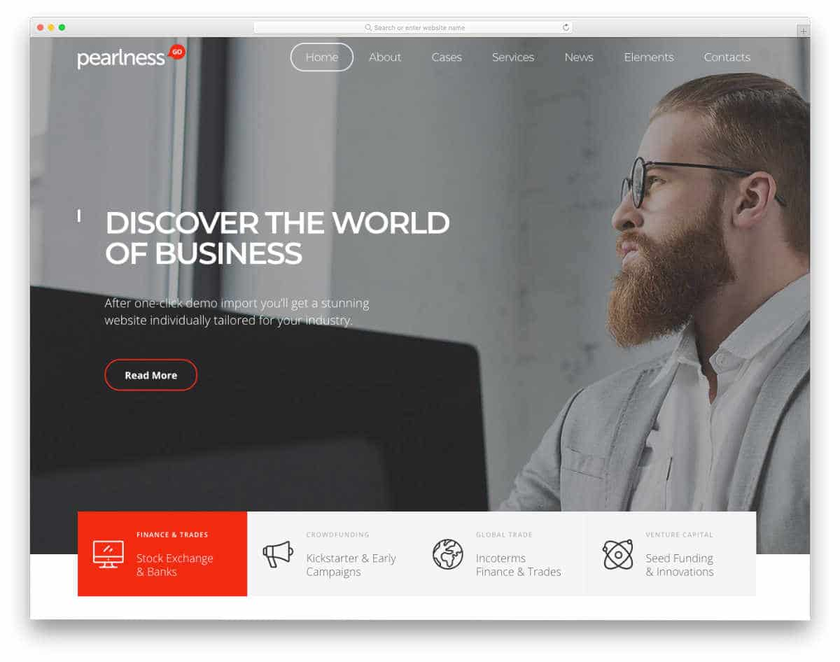 dynamic website templates for corporate websites