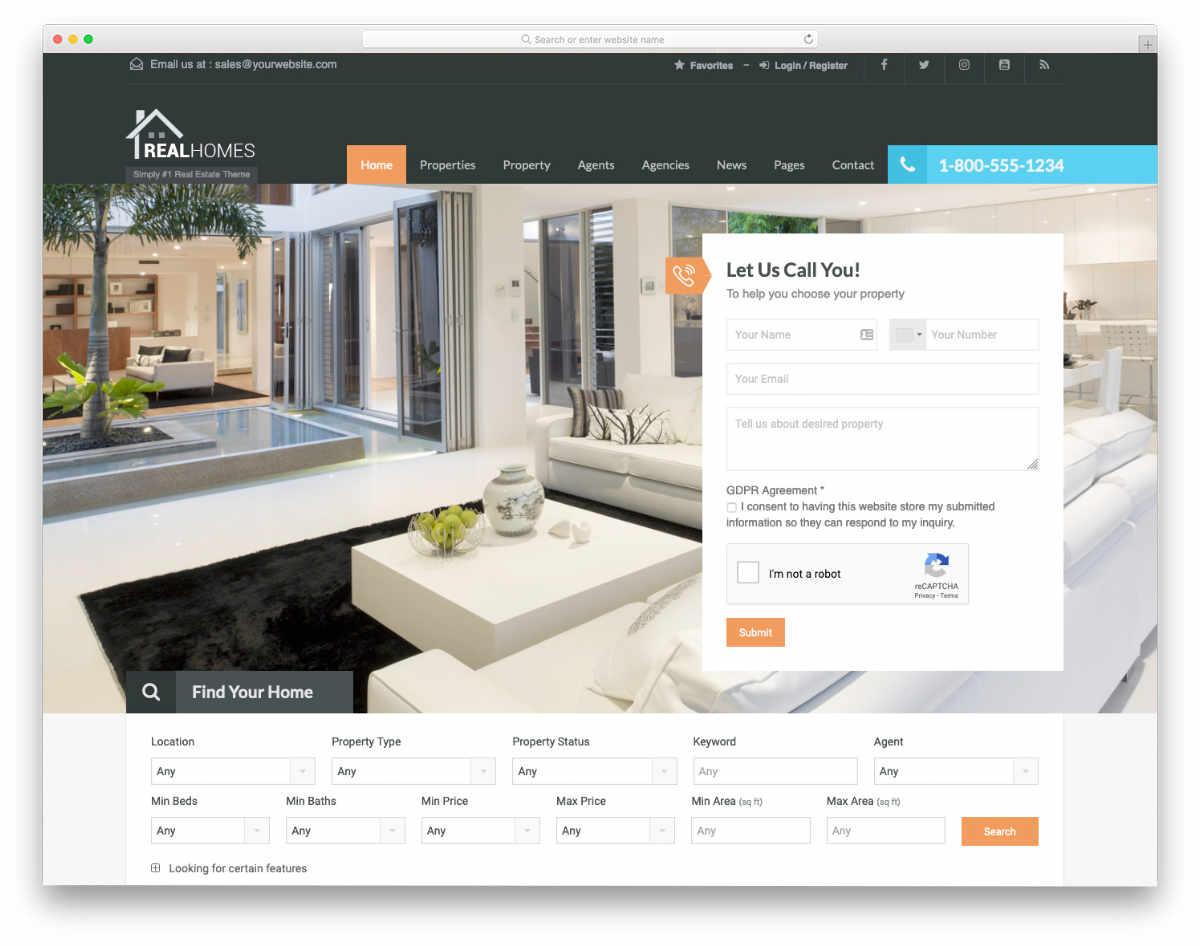 user-friendly website header design templates