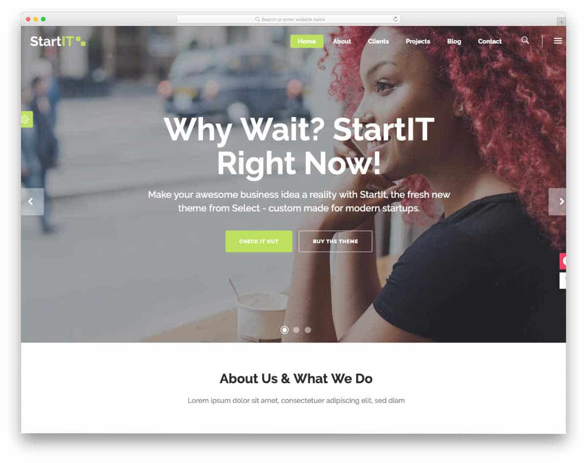simple and straightforward website templates
