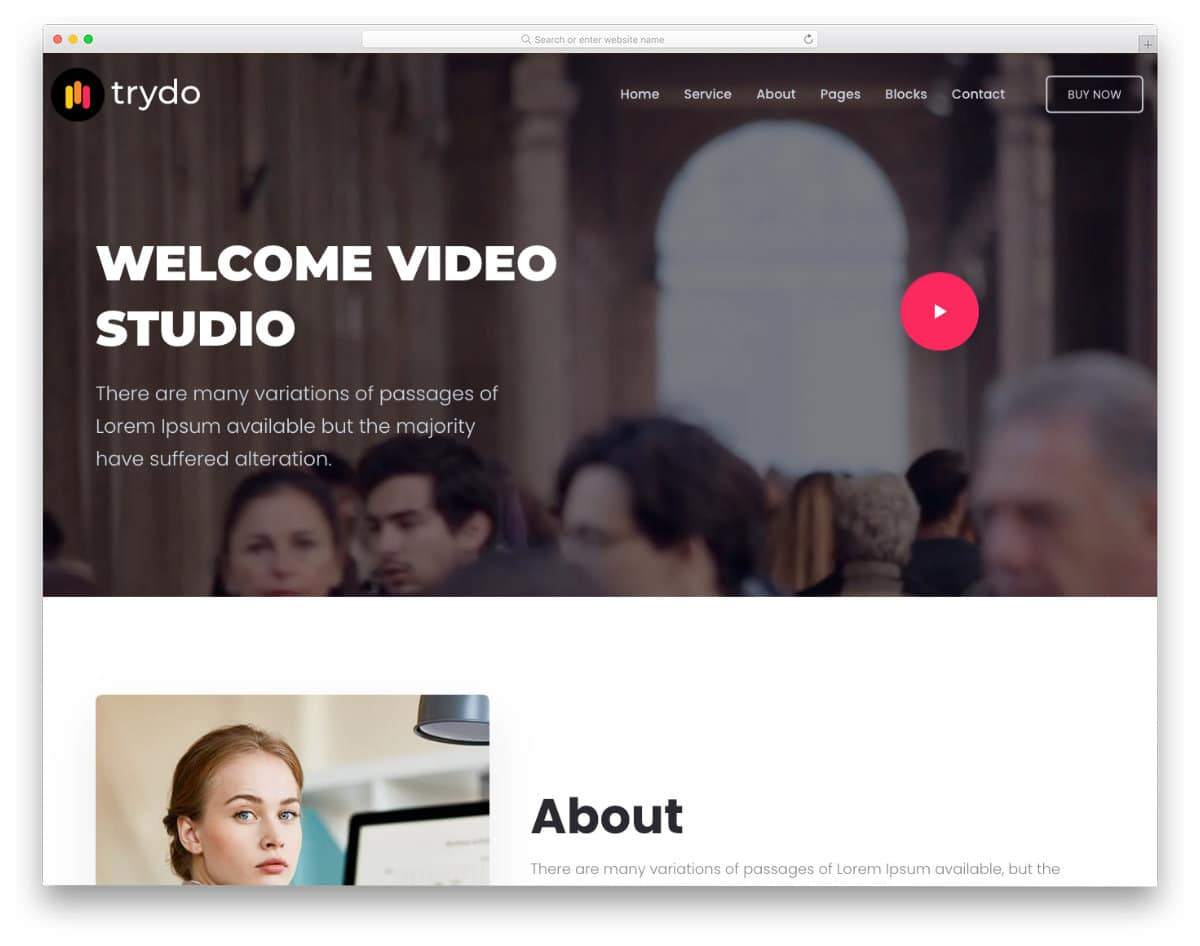 simple dynamic HTML template