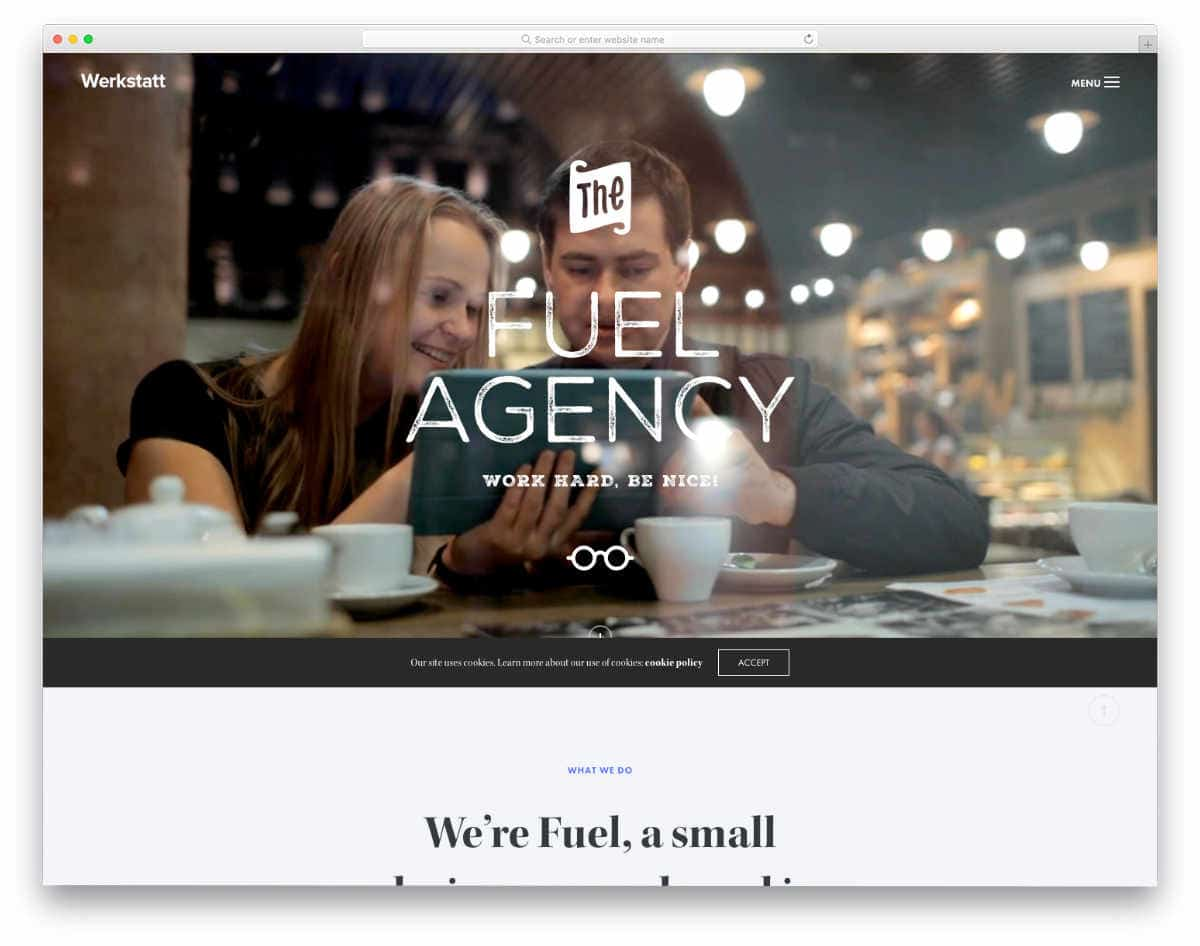 website header design templates with video background