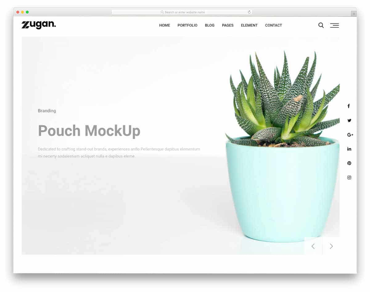 corporate style visual studio website templates