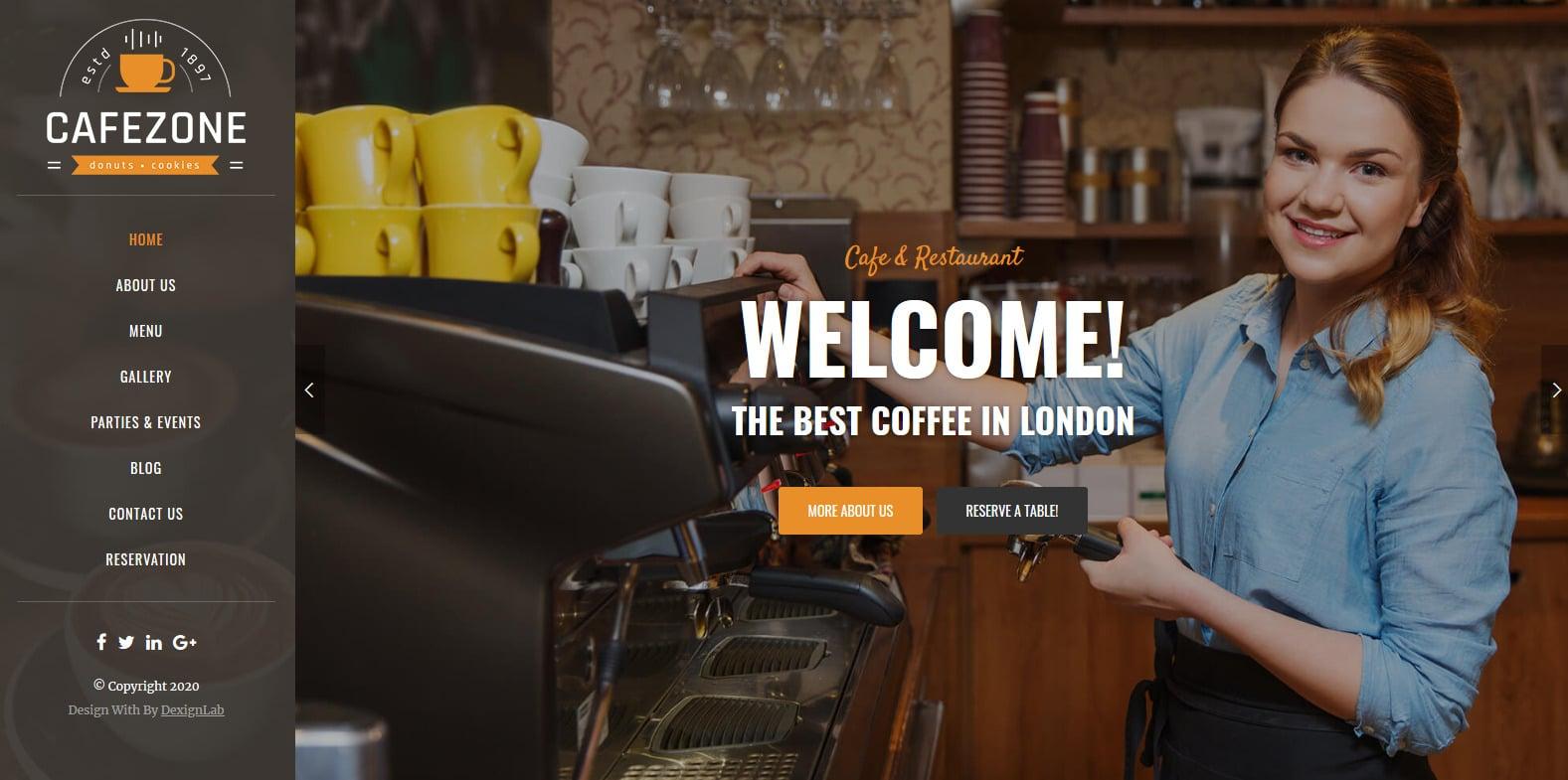 cafezone-coffee-shop-website-template