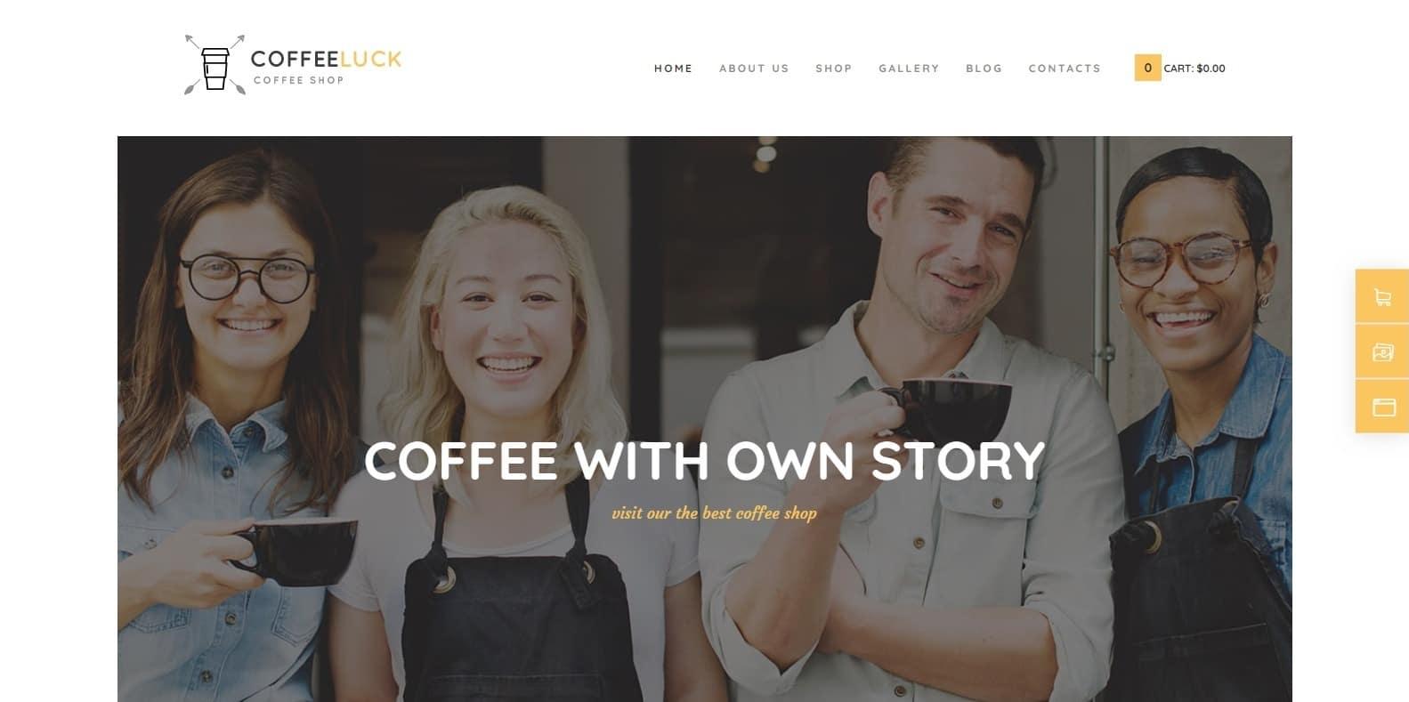 coffeeluck-coffee-shop-website-template
