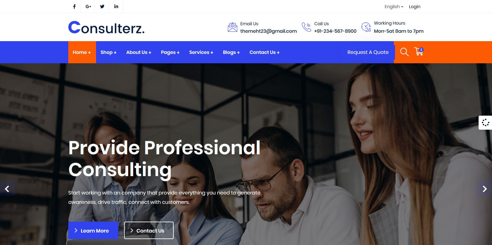 consulterz-accounting-website-template