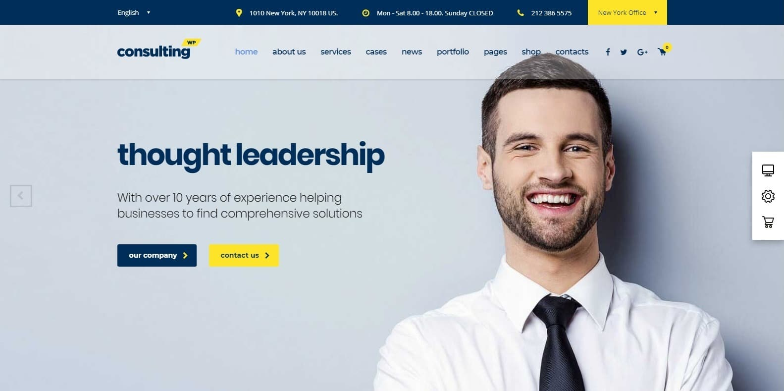 consulting-accounting-website-template