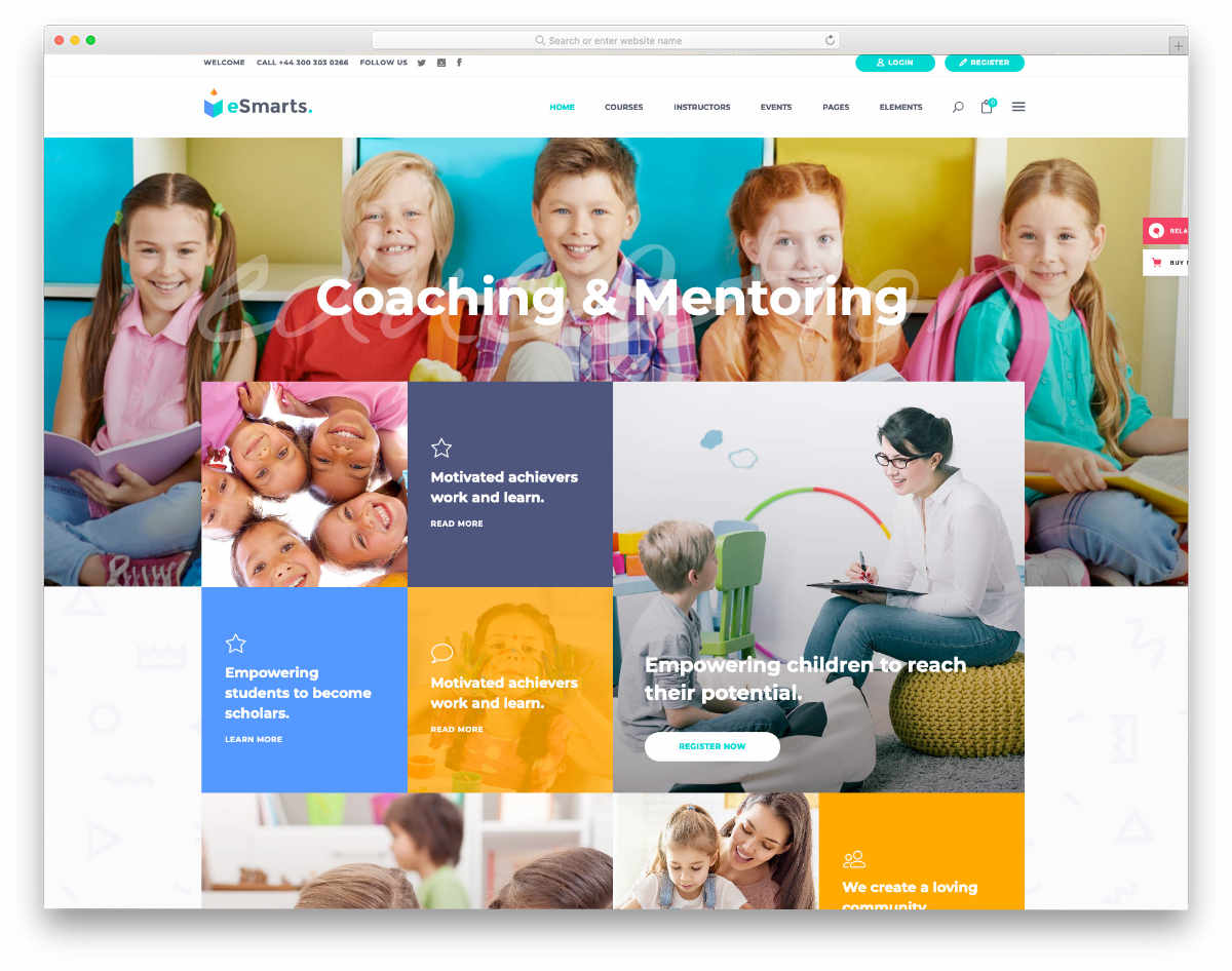image-rich school management system templates