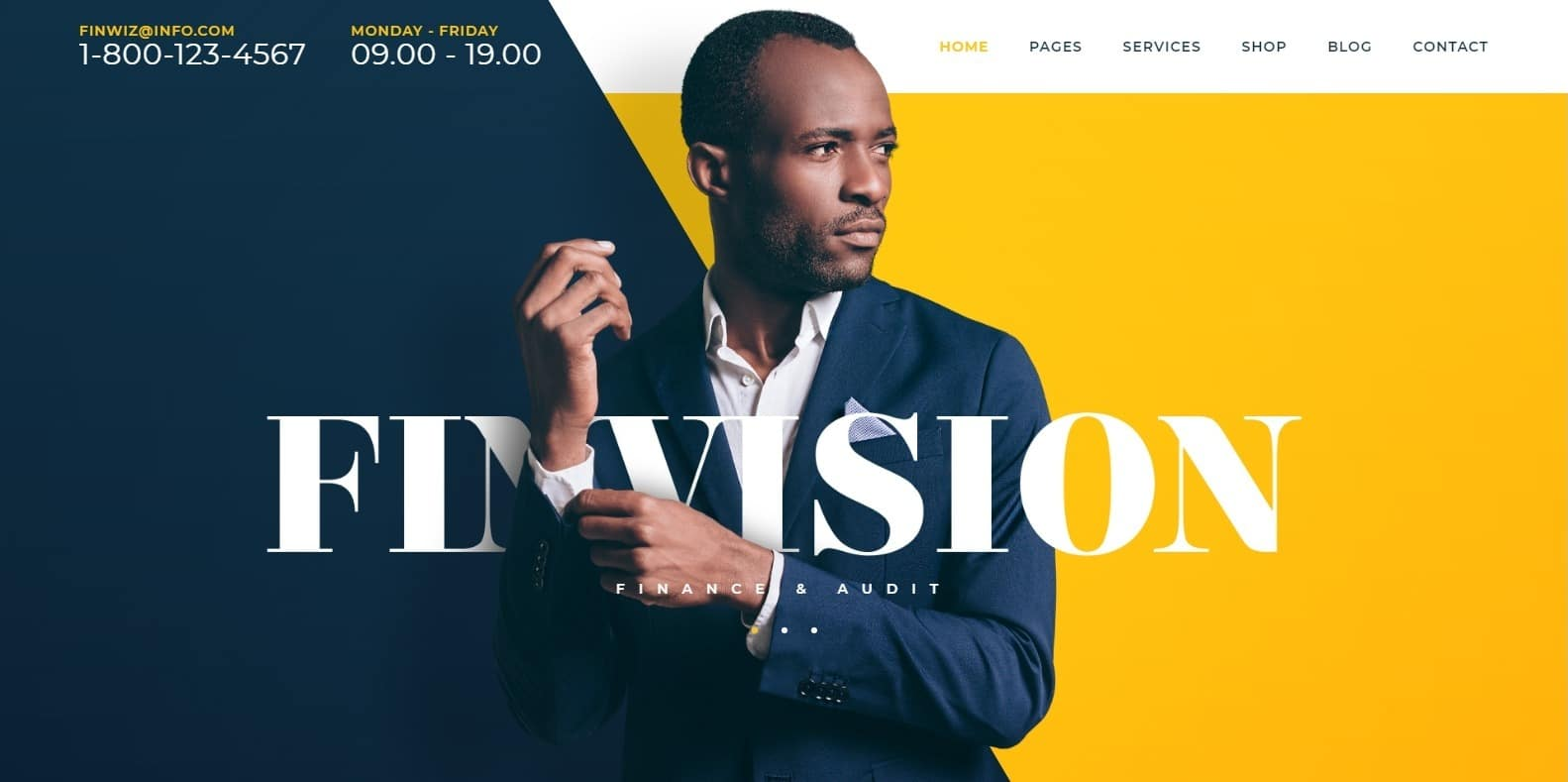 finvision-accounting-website-template