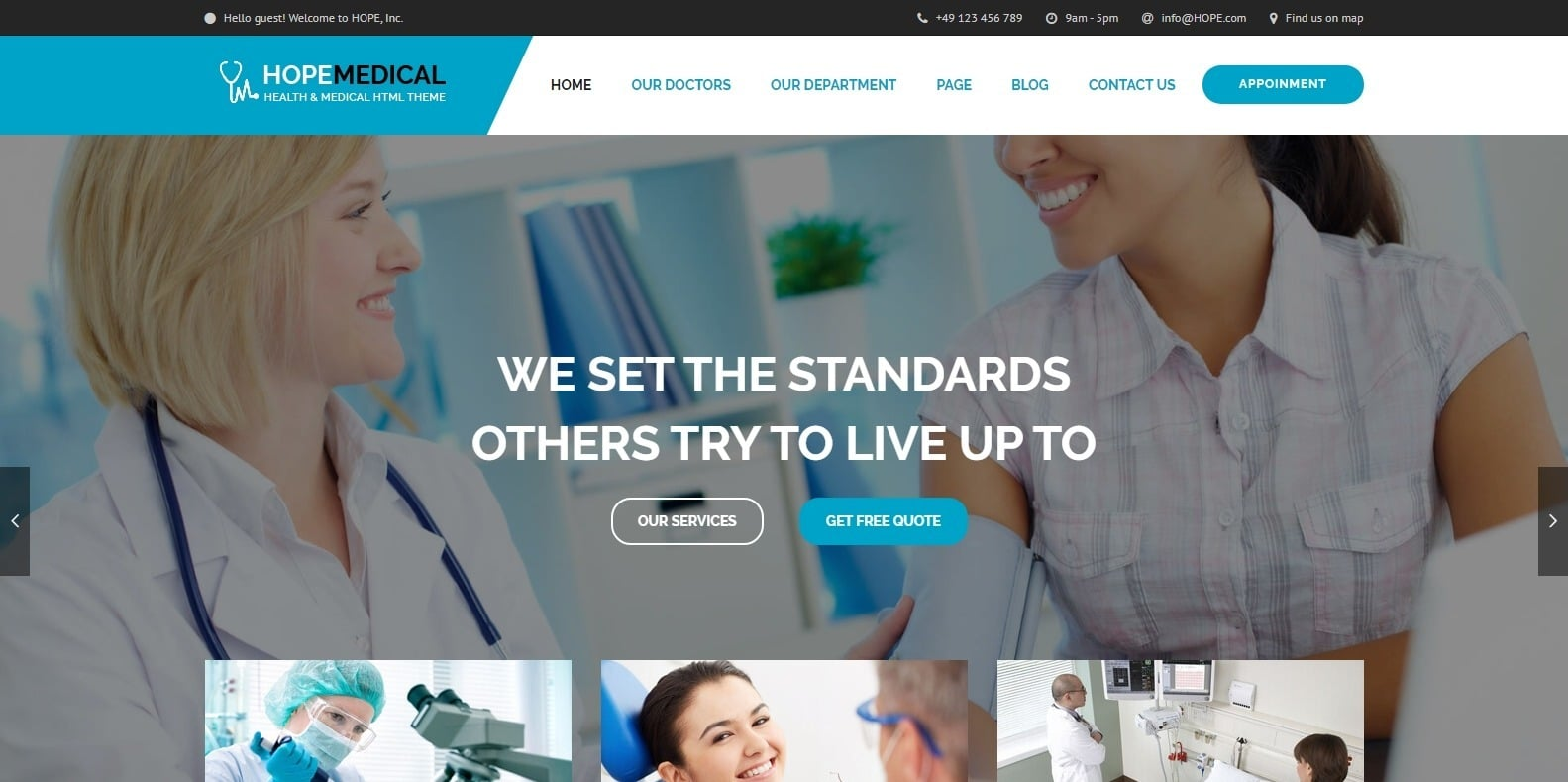 hopemedical-wordpress-physical-therapy-website-template