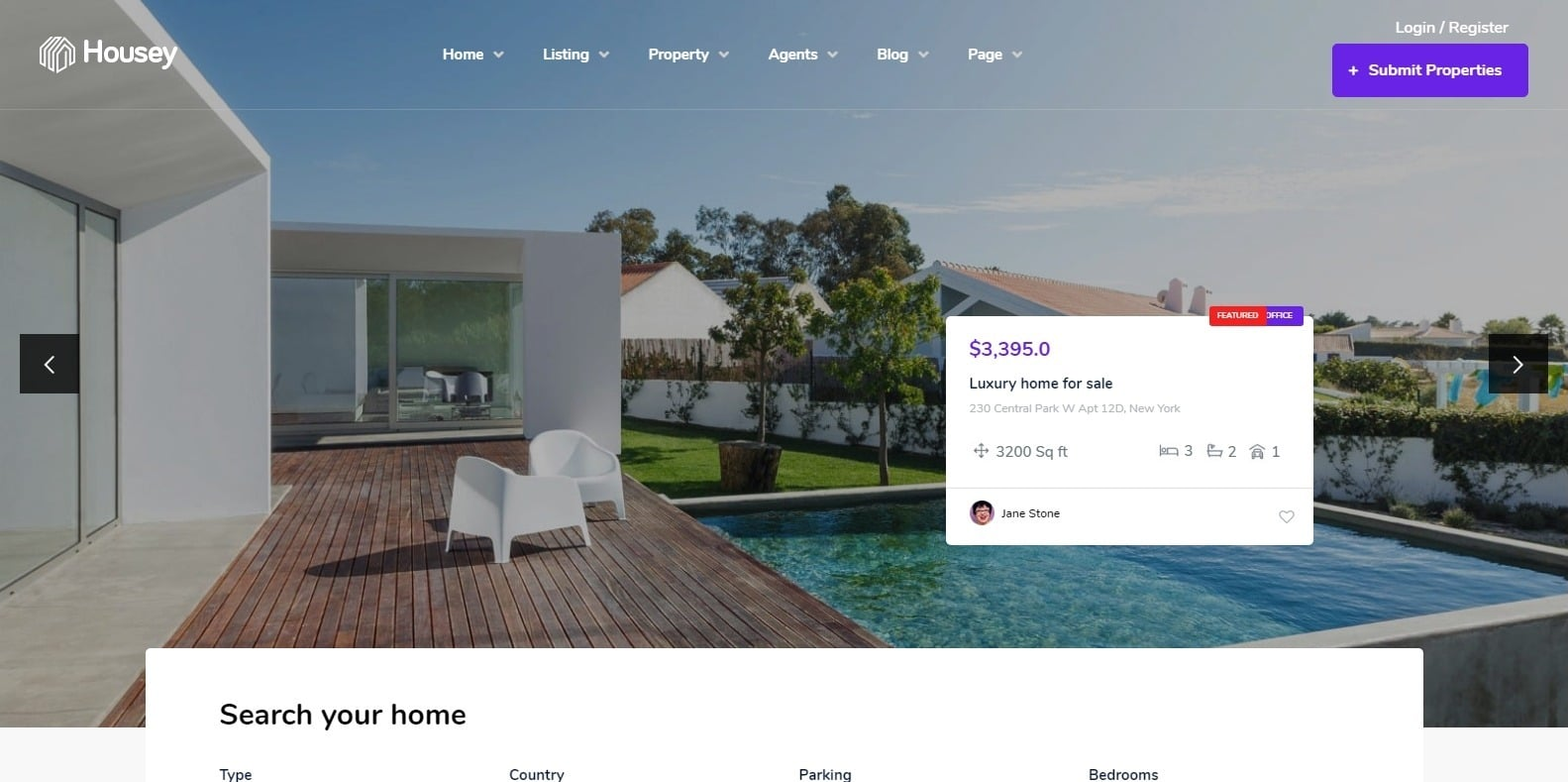 housey-property-management-website-template