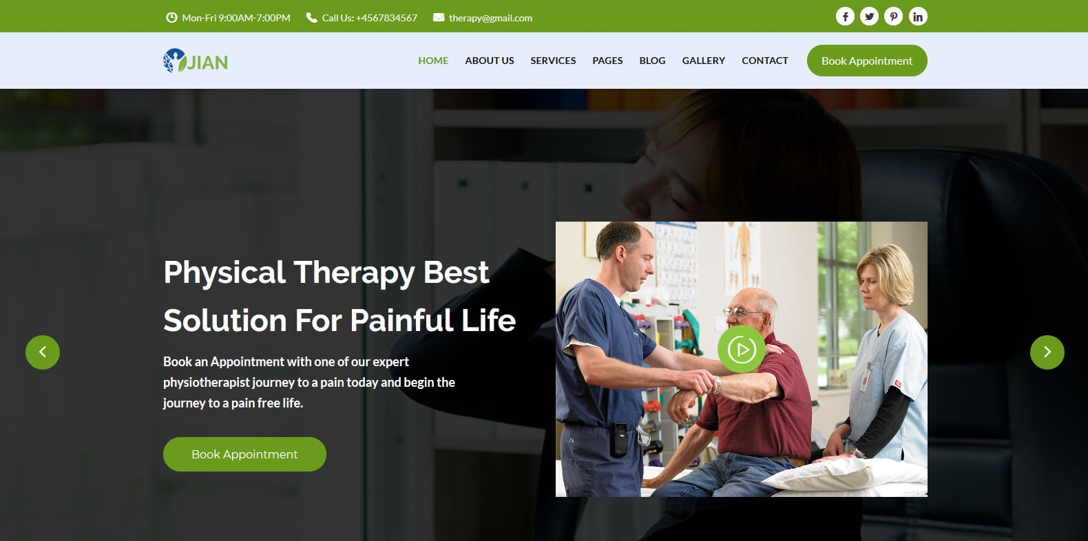 jian-physical-therapy-website-template
