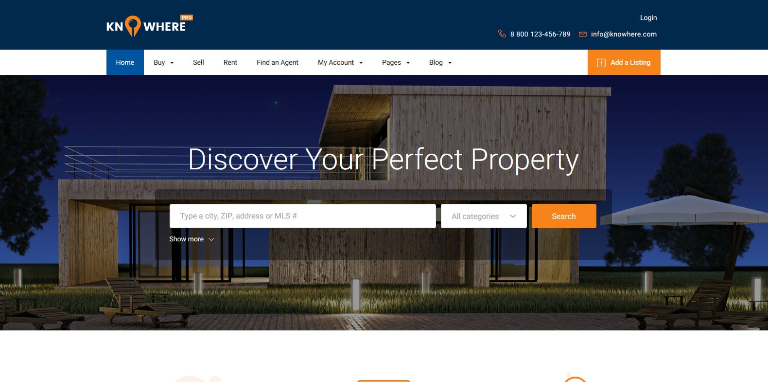 knowhere-property-management-websote-template