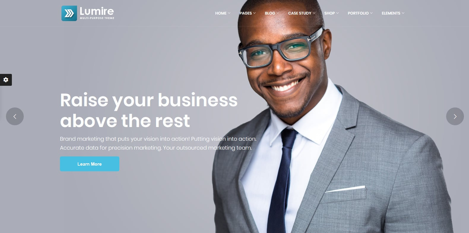 lumire-accounting-website-template