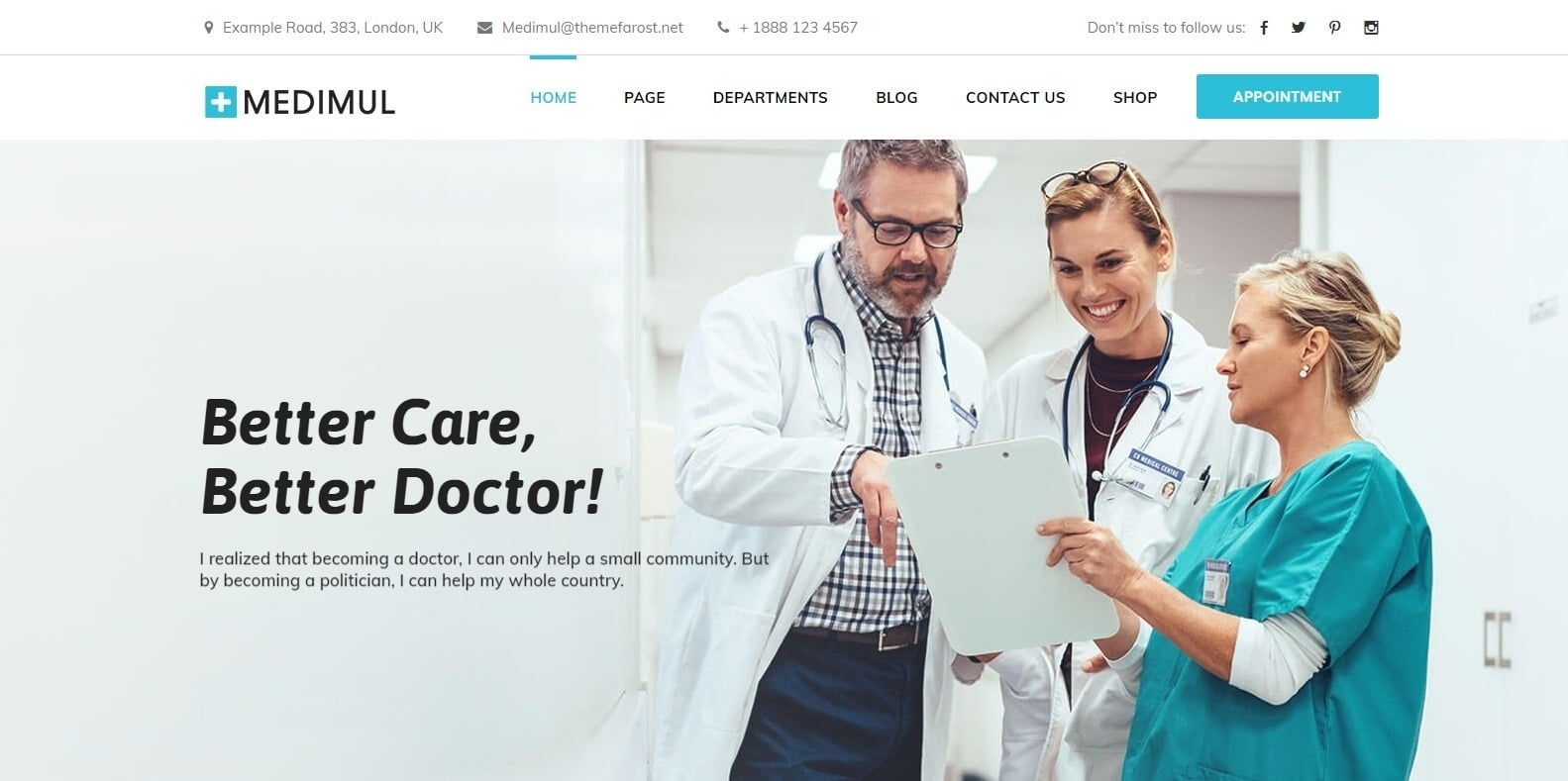 medimul-wordpress-physical-therapy-website-template