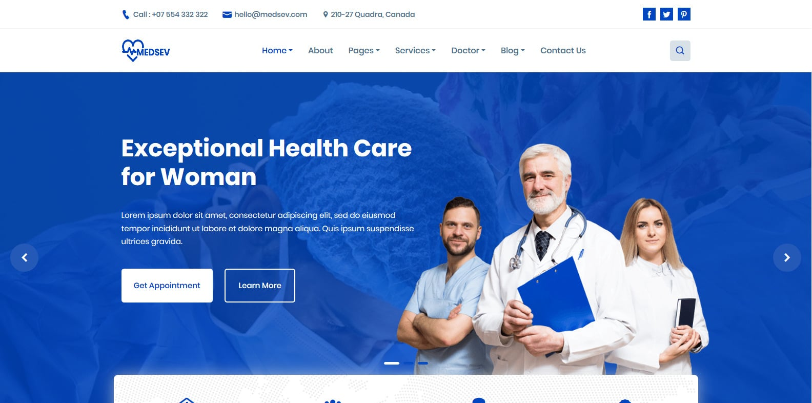 medsev-physical-therapy-website-template