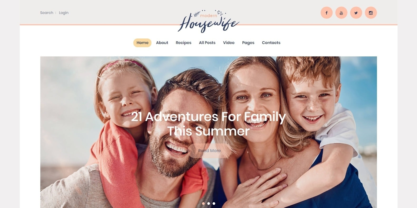 modern-housewife-family-reunion-website-template