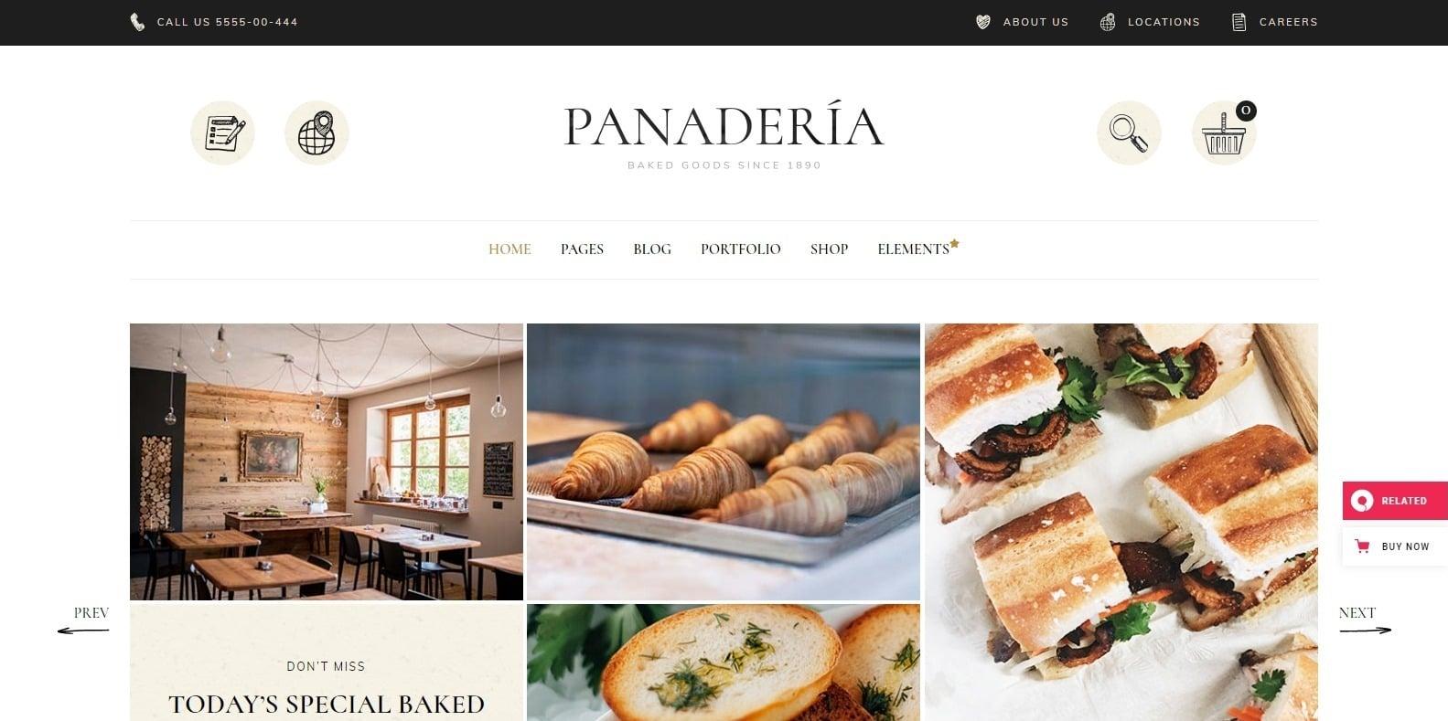 panaderia-coffee-shop-website-template