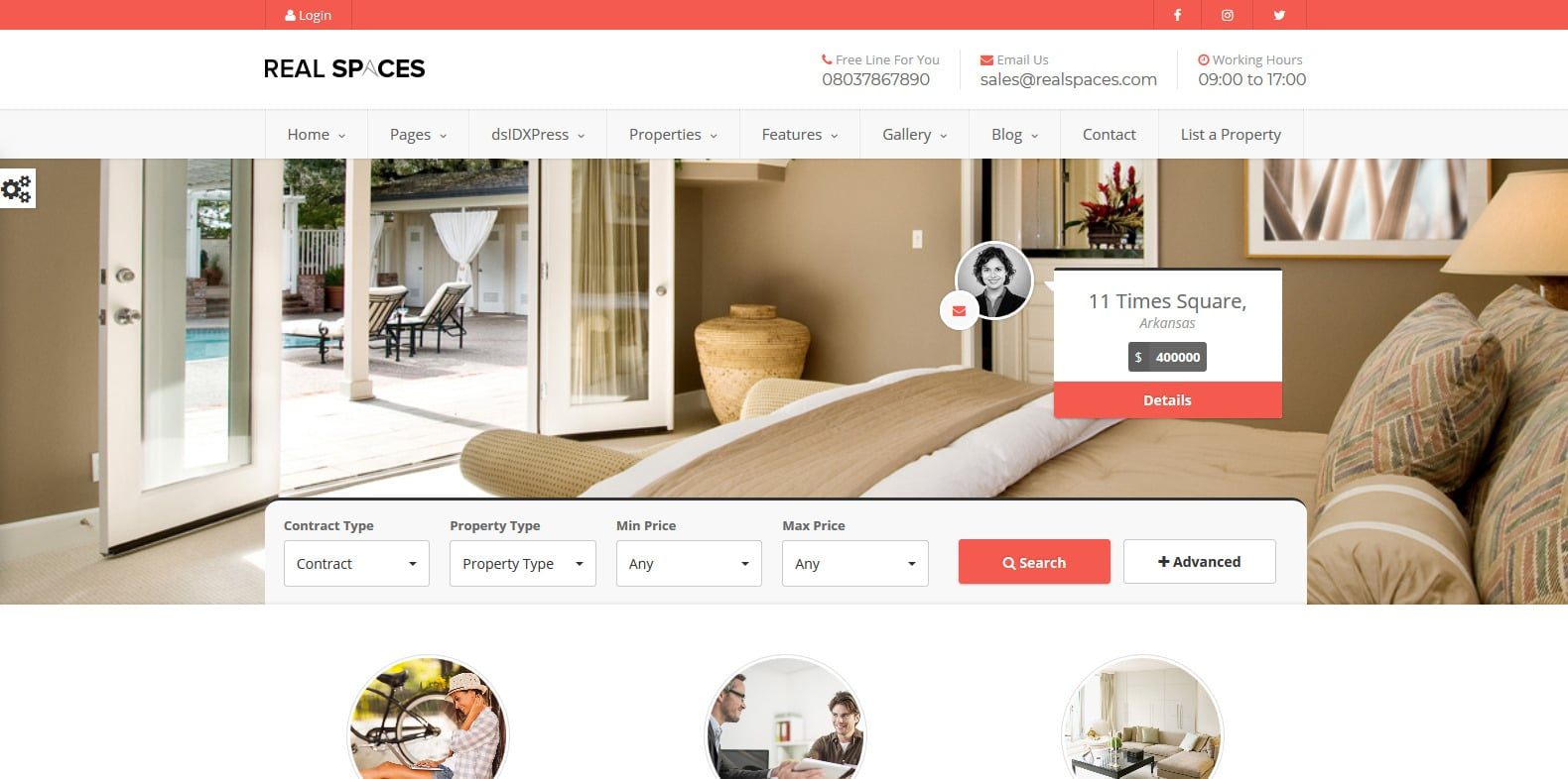 realspaces-property-management-websote-template