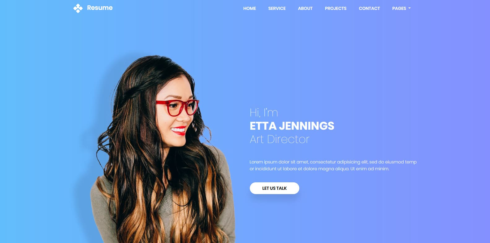 25 free html online resume templates to leave a lasting