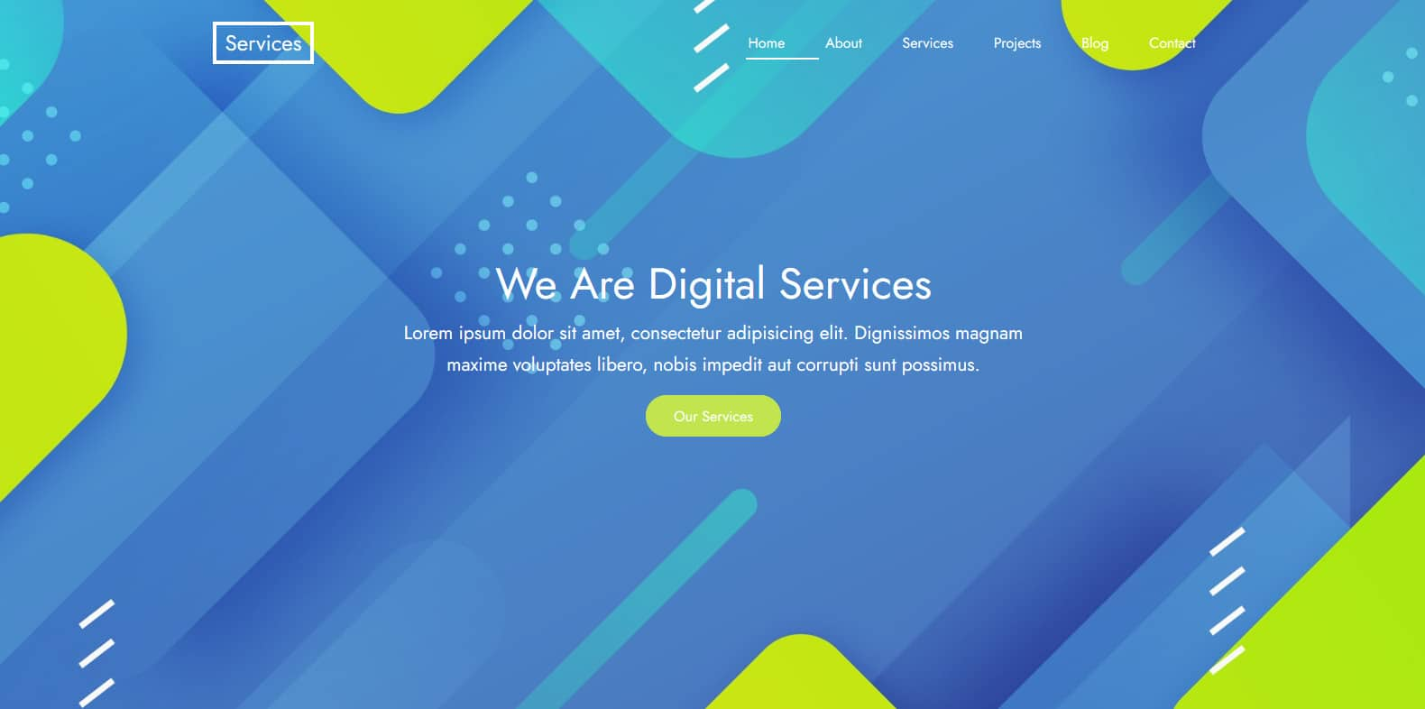 services-business-website-template