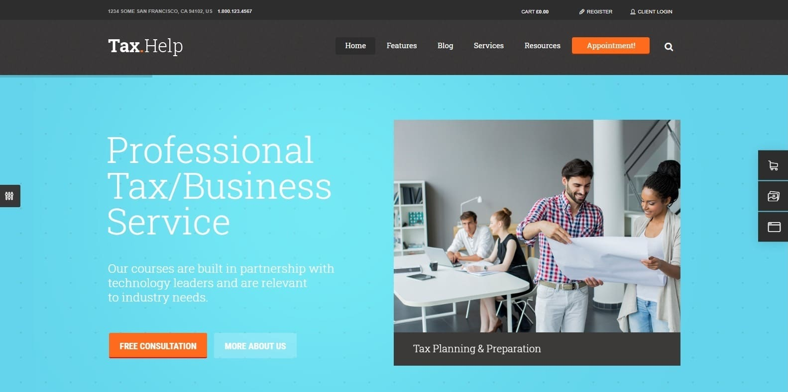 tax-help-accounting-website-template
