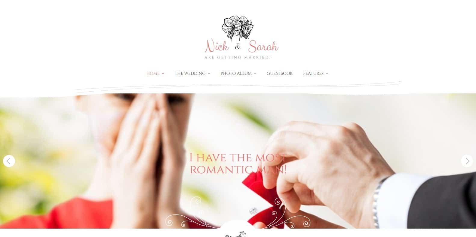 wedding-day-family-reunion-website-template