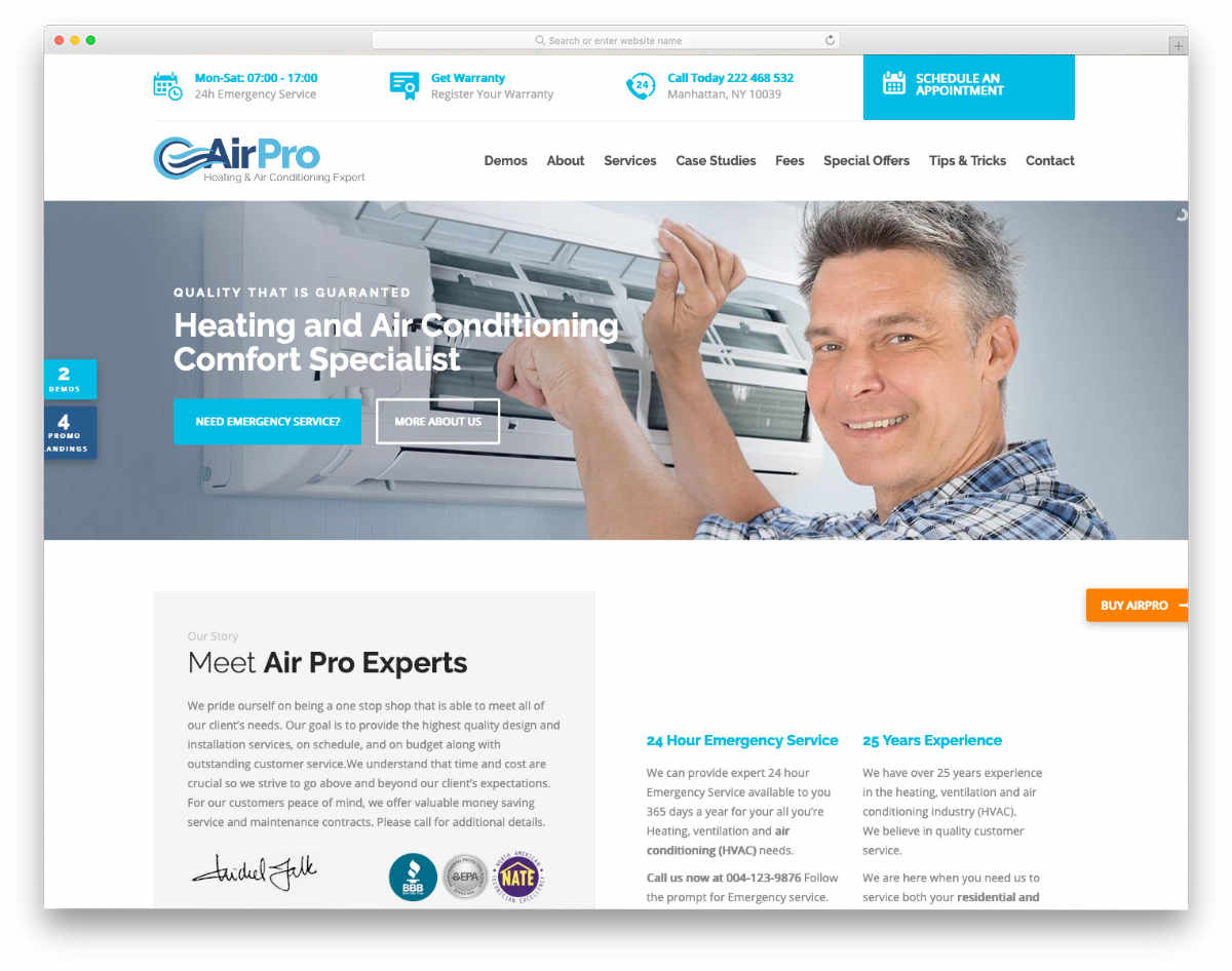 19 Fully Equipped Invigorating Hvac Website Template Uicookies