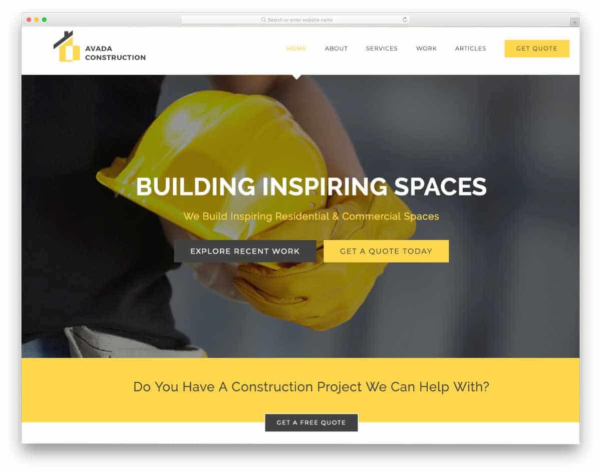 multipurpose WordPress website template