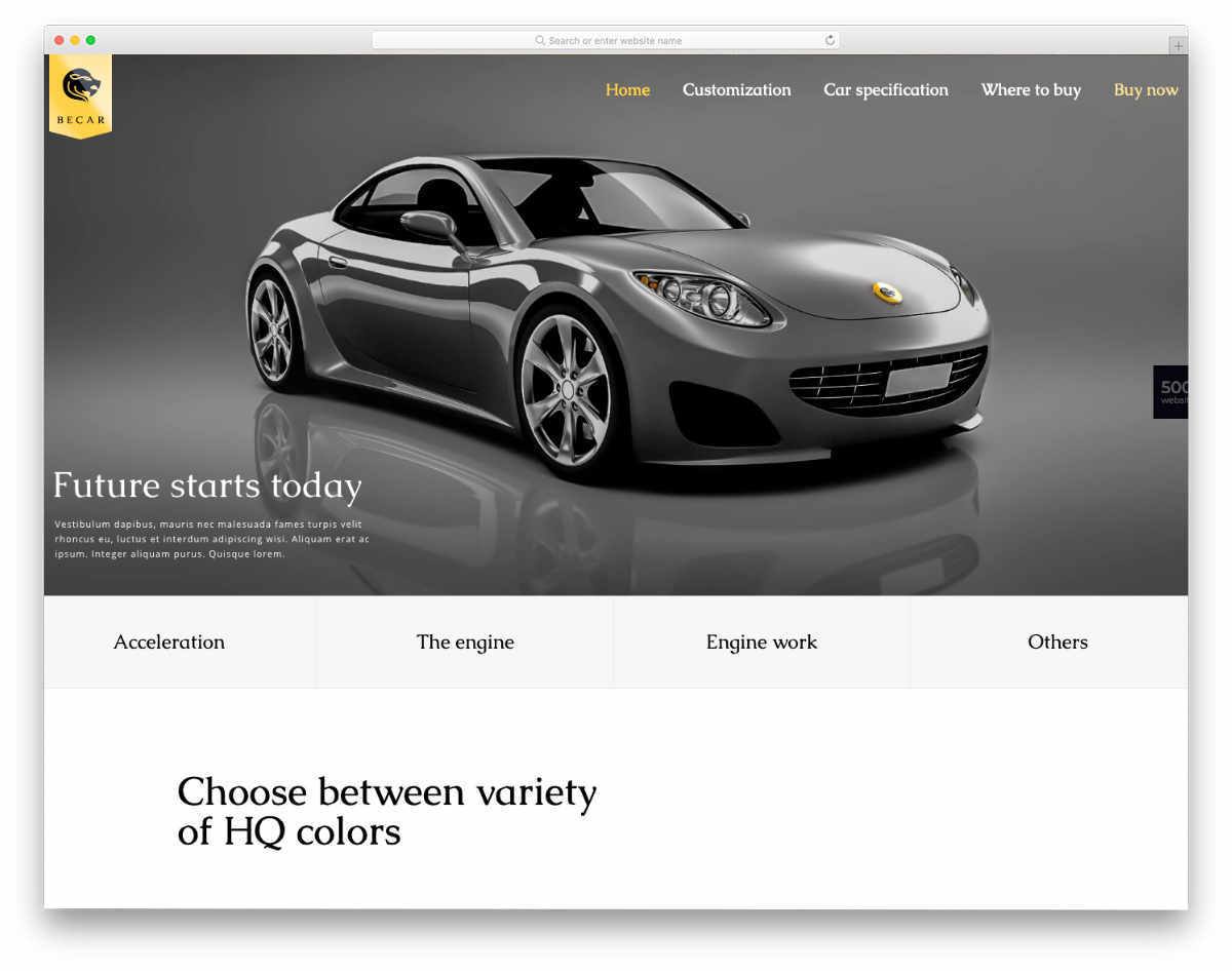 BeTheme-equipment-rental-website-template