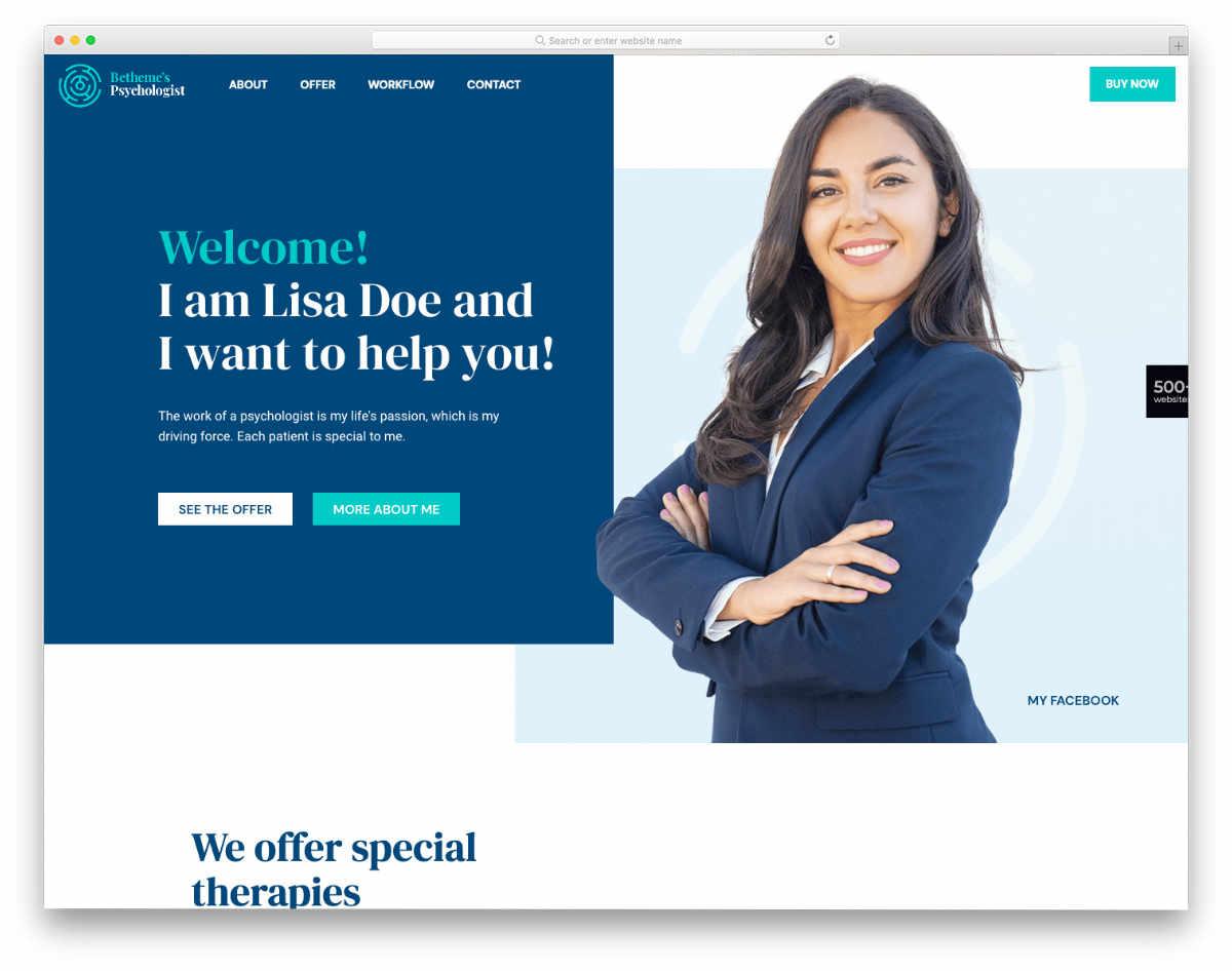 multipurpose website template