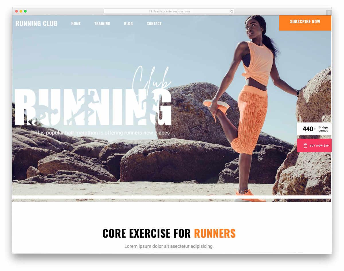 Fake Website Templates for creative websites