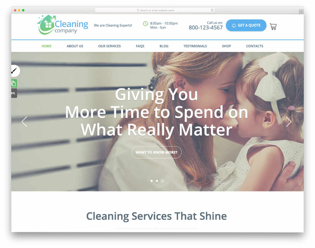 feature-packed pest control WordPress themes