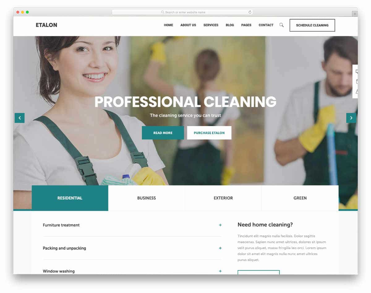 multipurpose service business website template