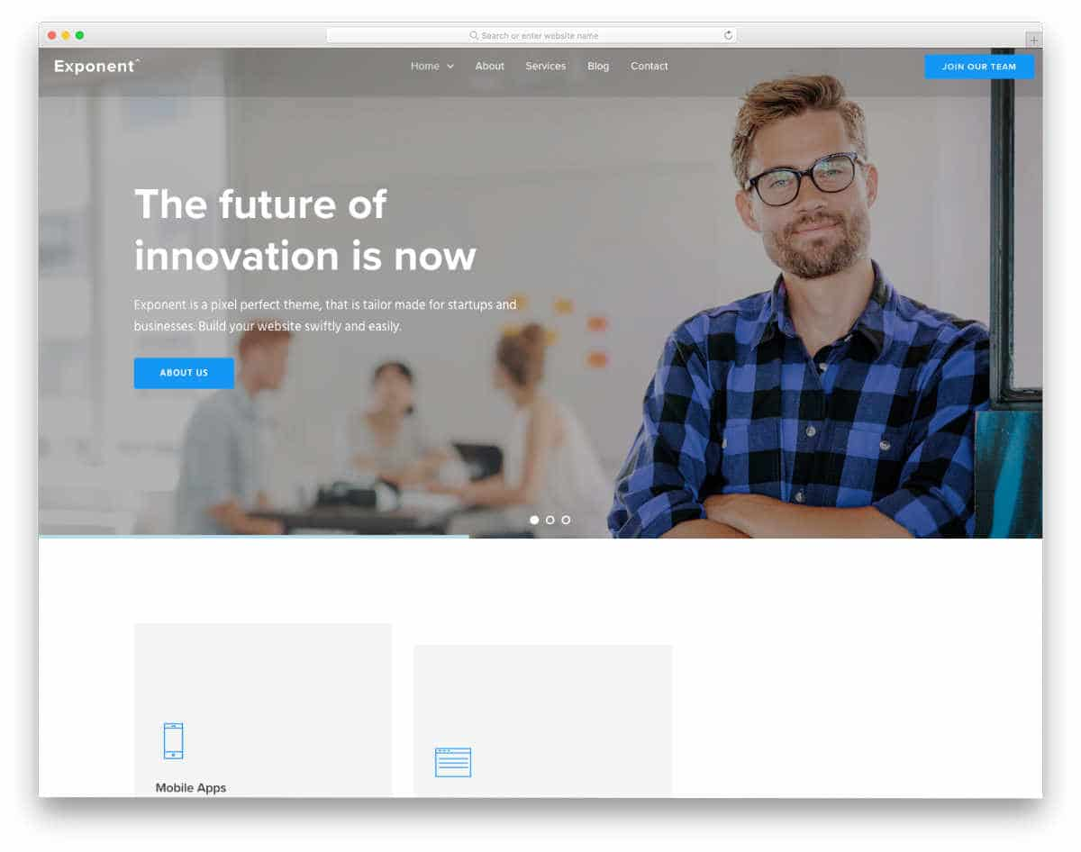 clean and simple website templates