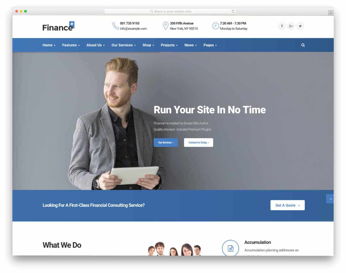 professional-looking credit repair website templates
