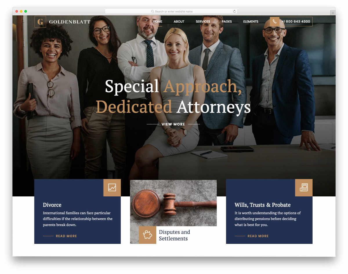 multipurpose notary website template