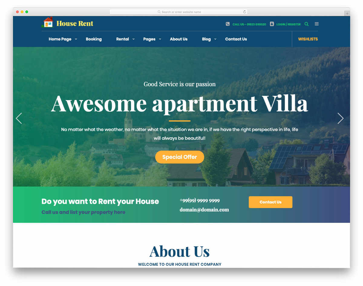 bold and easy to interact website templates