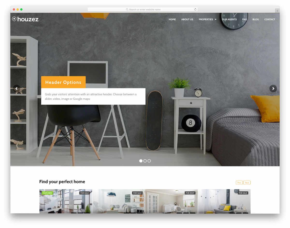 clean and elegant real estate investor templates