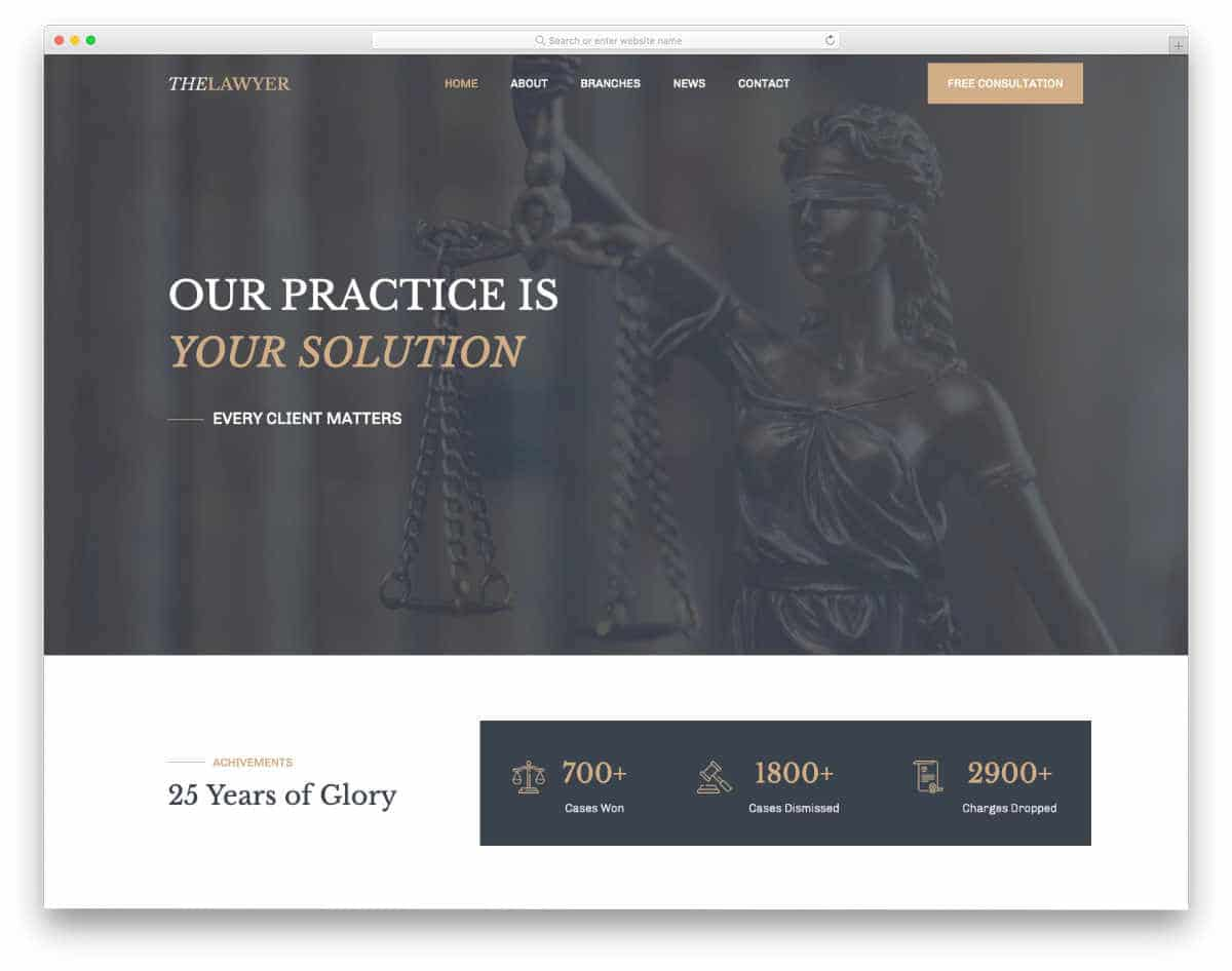 easy-to-customize website template