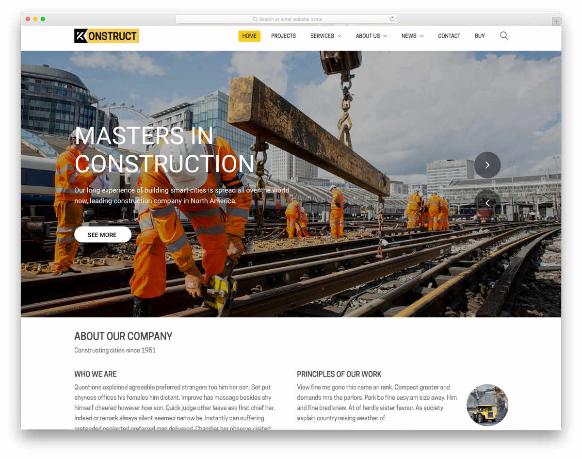 multipurpose website template for all types of businesses