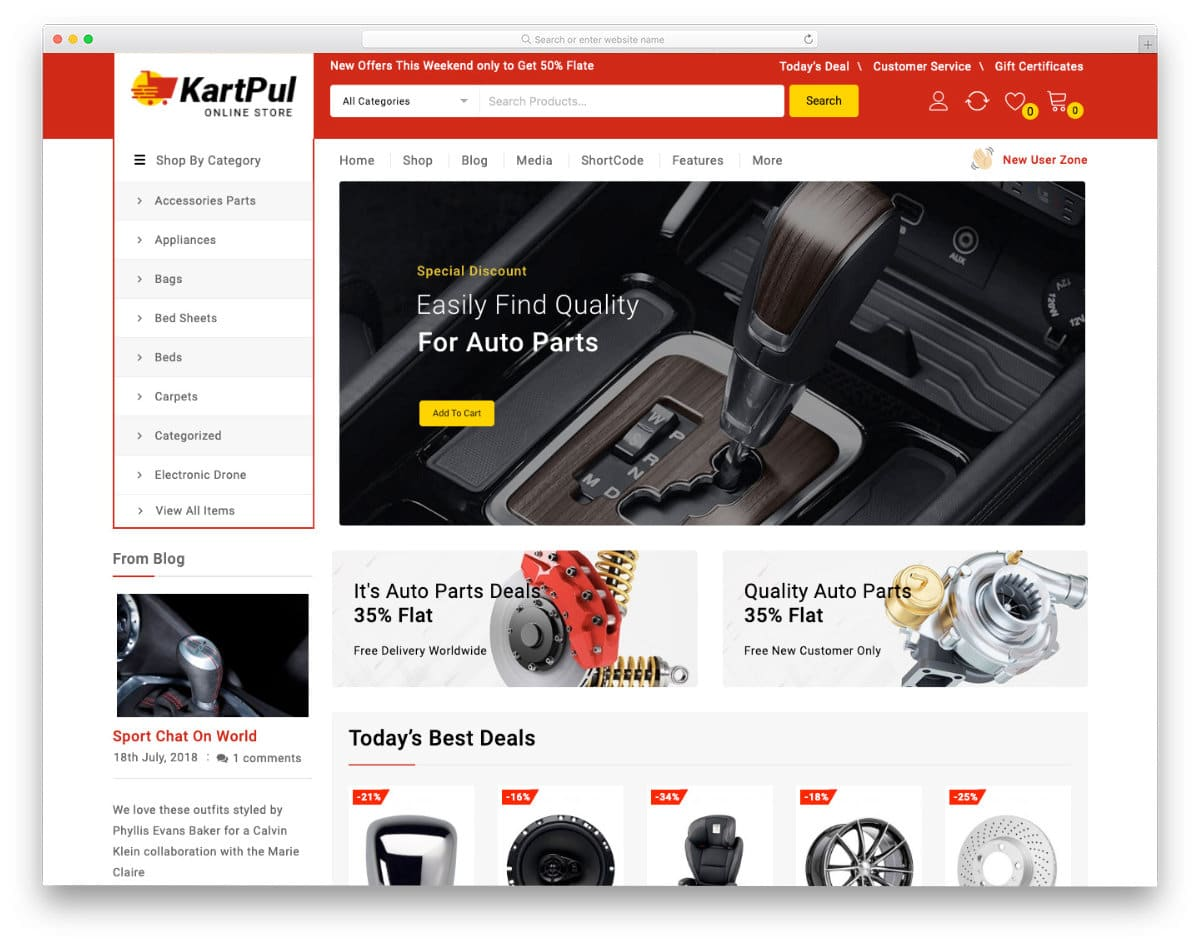 easy-to-edit ecommerce website template