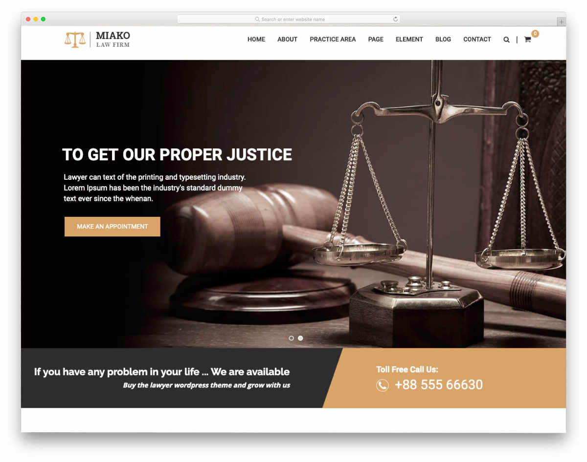 simple notary website template