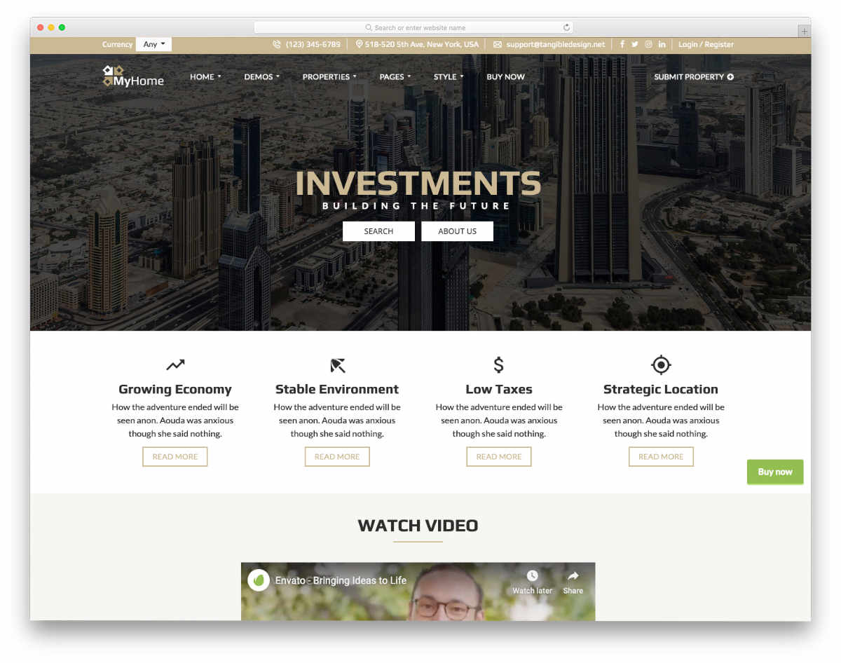 real estate investor templates with useful options
