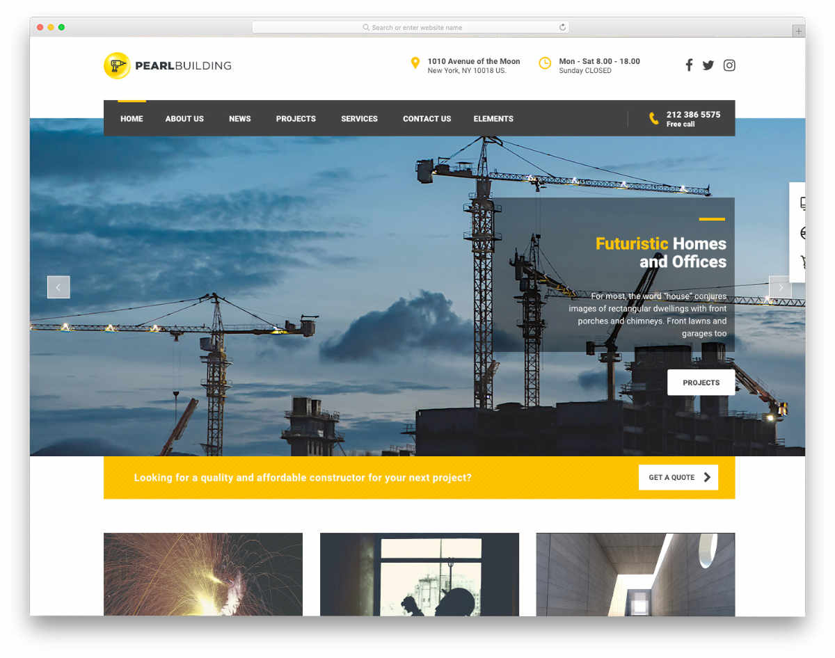 ready to use website templates