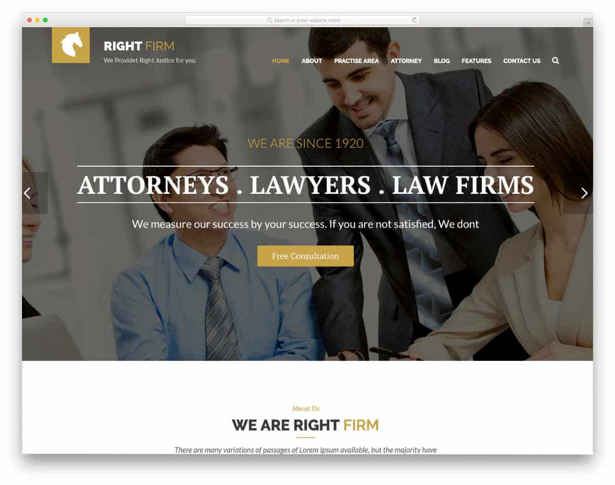notary website template with multiple demos