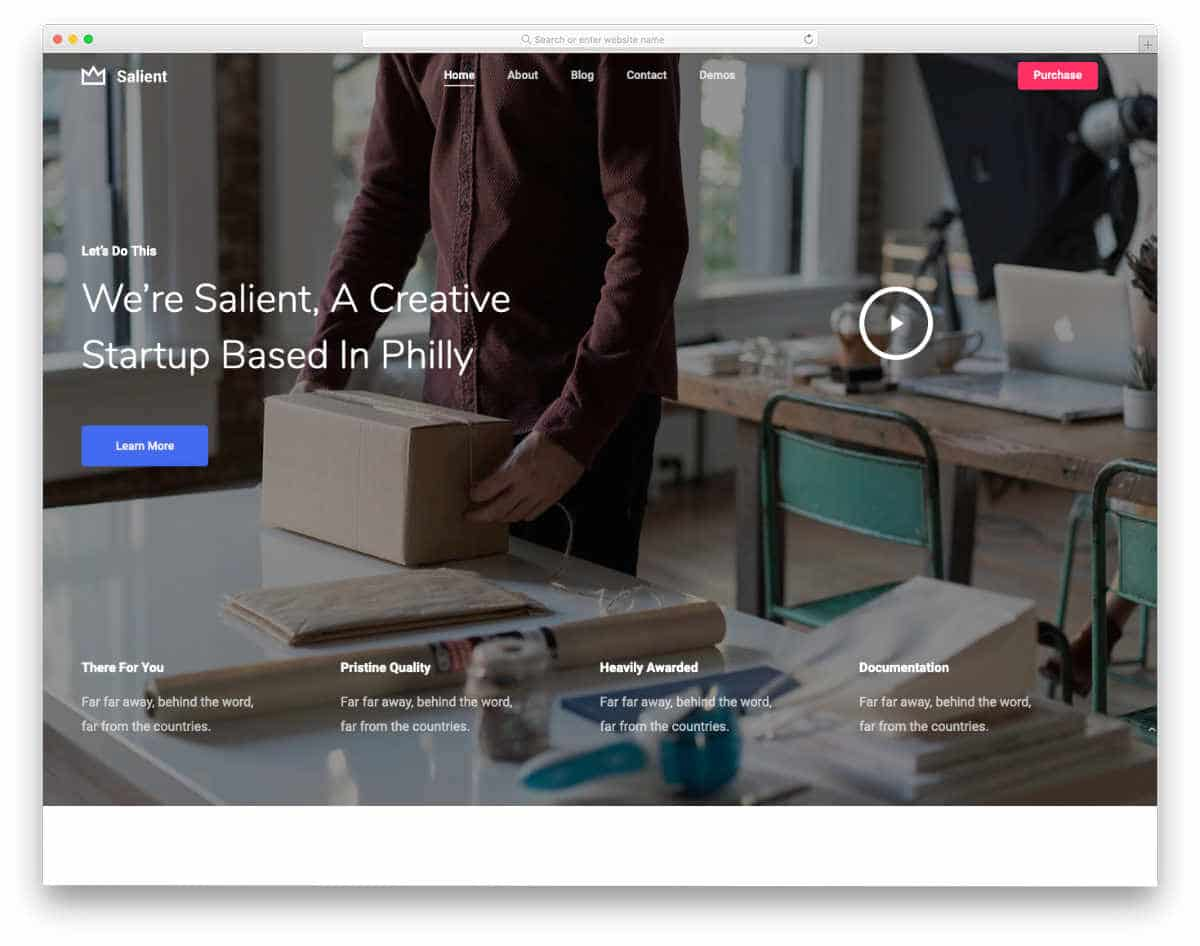 simple and elegant website templates