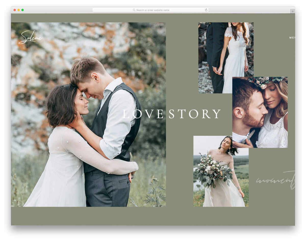 videographer web templates for wedding videographers