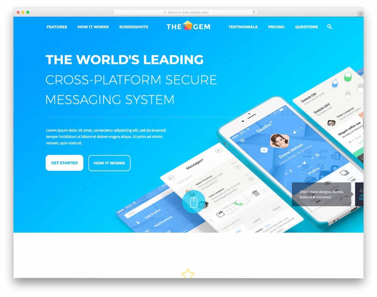 interactive mulitpurpose website templates