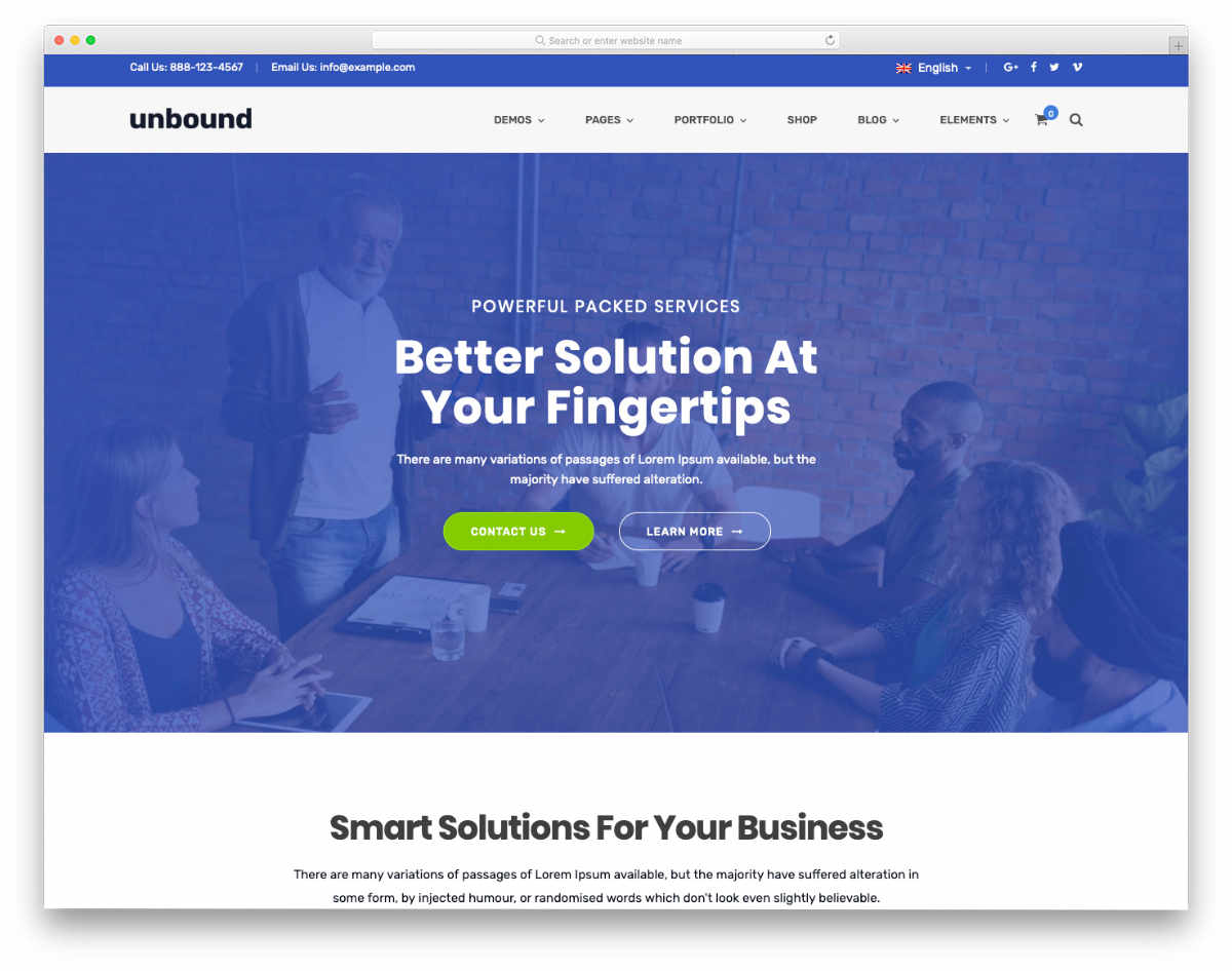 multipurpose financial website templates
