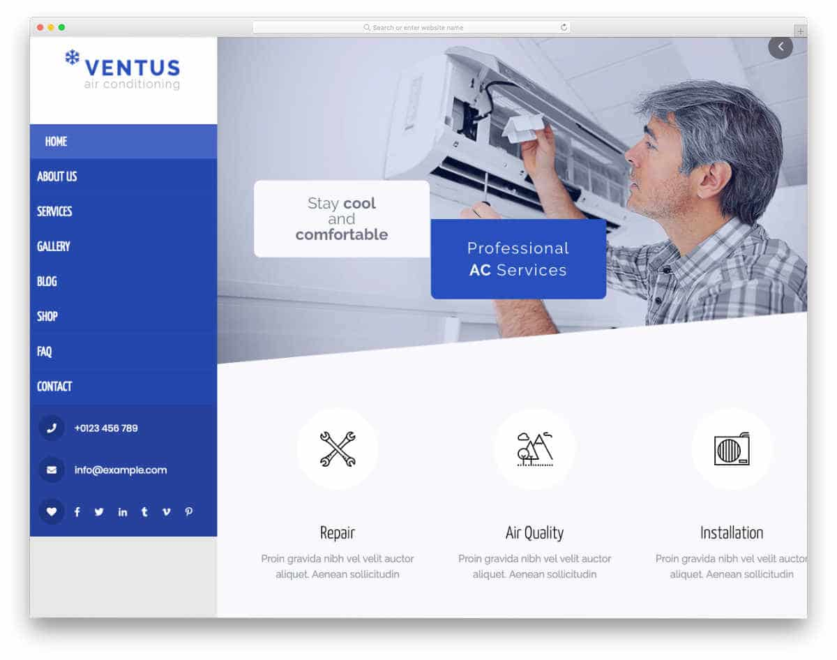 easy-to-edit website template